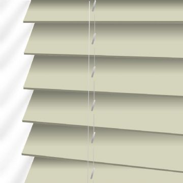Forestwood 50mm Real Wood Venetian blinds Made to Measure in Cornsilk